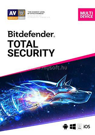 BITDEFENDER Total Security 1 év 10 eszköz