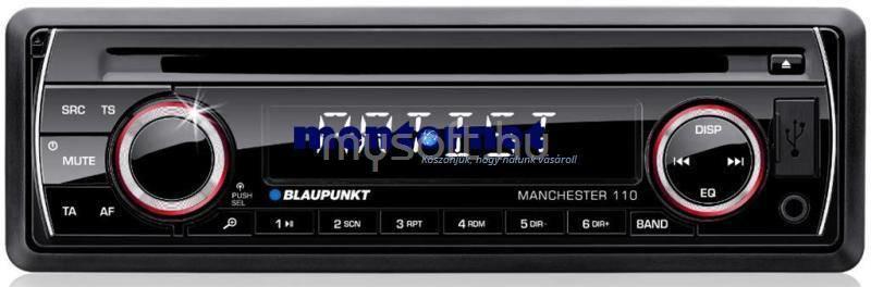 BLAUPUNKT Manchester 110 fejegység mechanikával autósrádió