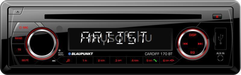 BLAUPUNKT Cardiff 170 Bluetooth/CD/SD/USB/MP3 autóhifi fejegység