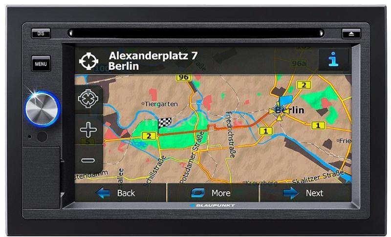 "BLAUPUNKT San Diego 6,2"" TFT-s Bluetooth/SD/USB/MP3/GPS autóhifi fejegység"
