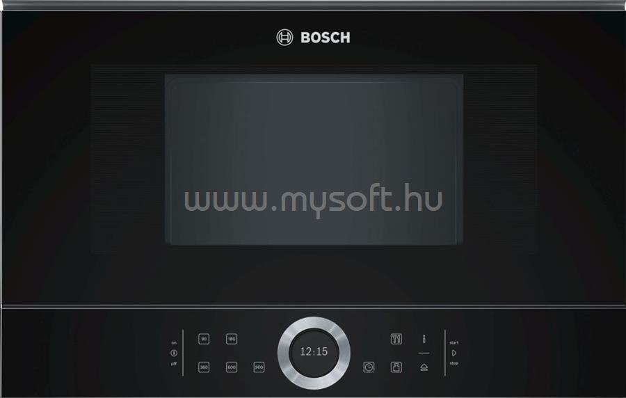 BOSCH BFL634GB1 Serie 8 beépíthető mikrohullámú sütő