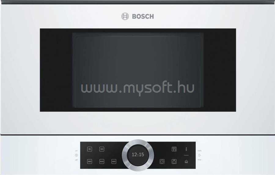 BOSCH BFL634GW1 Serie 8 beépíthető mikrohullámú sütő