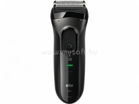 BRAUN 3-3020 fekete férfi borotva