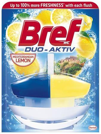 """BREF WC illatosító gél, 50 ml, """"Duo Aktiv"""", citrus"""
