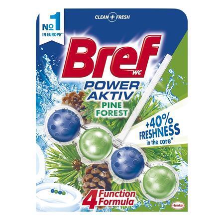 """BREF WC illatosító golyók, 50 g, """"Power Aktiv"""", fenyő"""