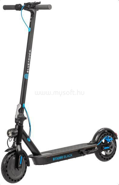 BLUETOUCH BTX250 Elektromos Roller, összecsukható, Fekete