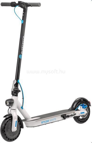 BLUETOUCH BTX250 Elektromos összecsukható roller (fehér)