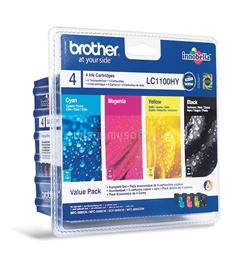 Brother Patron Kit LC-1100HY CMYK, LC1100HYVALBP