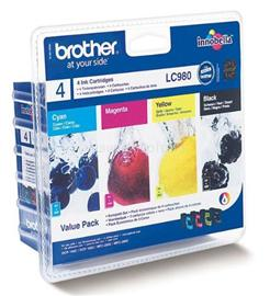 Brother Patron Kit LC-980 CMYK, LC980VALBP
