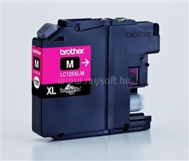 Brother Tintapatron Magenta DCP-J4110DW MFC-J4410DW MFC-J4510DW MFC-J6520DW MFC-J6920DW (1 200 oldal), LC125XLM