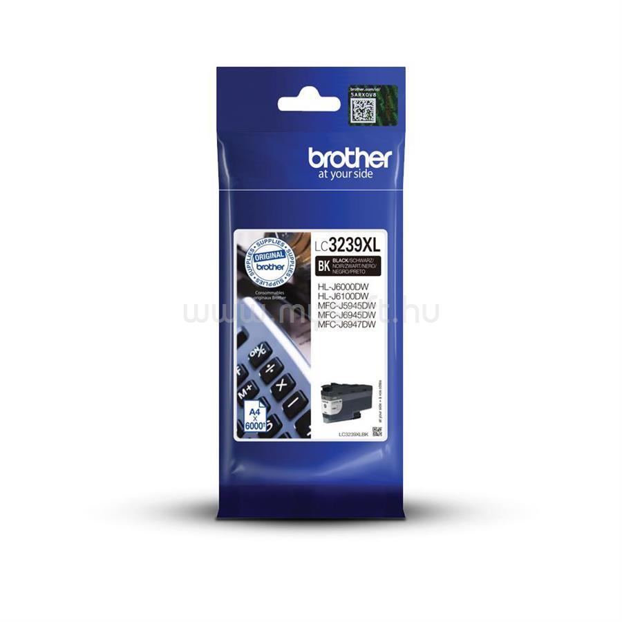 BROTHER LC3239XLBK Tintatartály (fekete)
