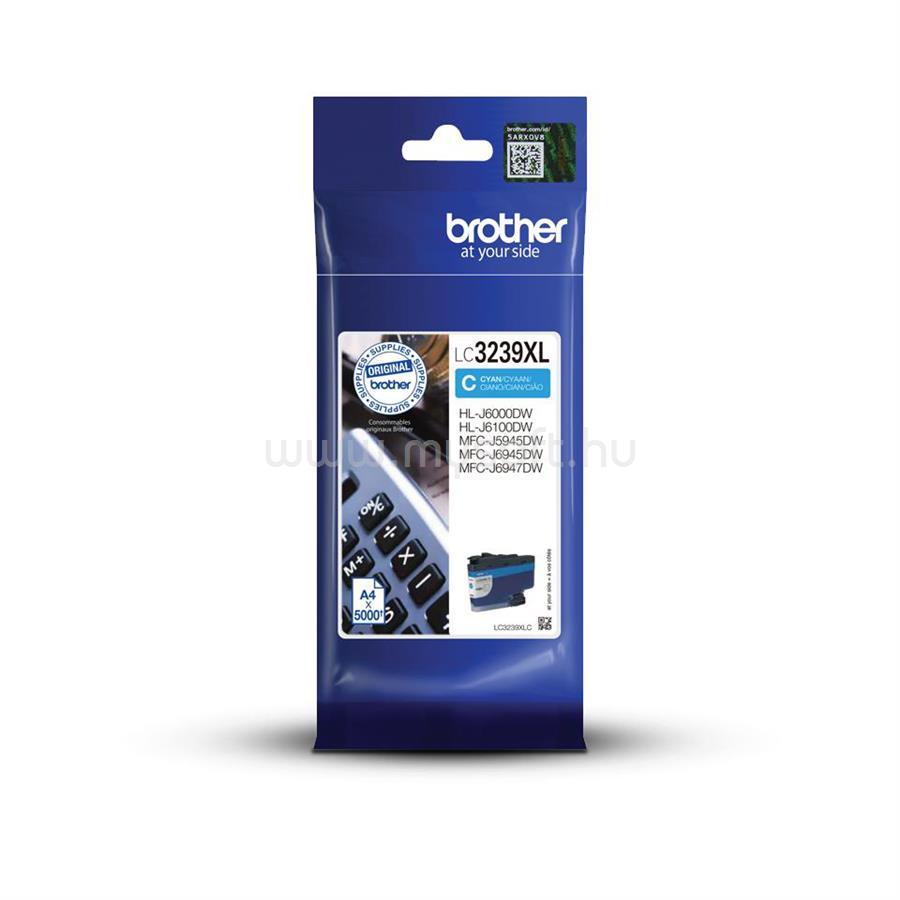 BROTHER LC3239XLC Tintatartály (cián)