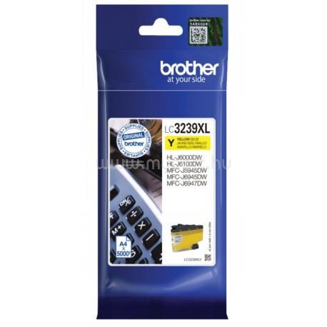 BROTHER LC3239XLY Tintatartály (sárga)