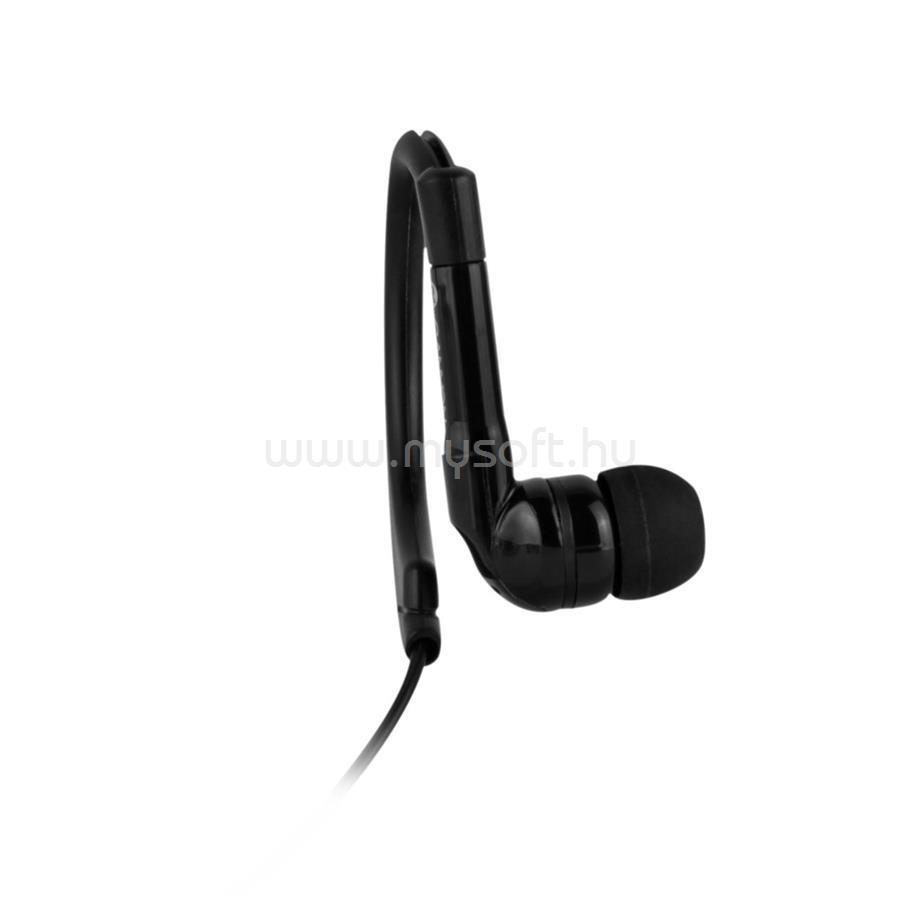 CANYON Sport fülhallgató mikrofonnal (Fekete) (CNS-SEP1B ... f559d72129