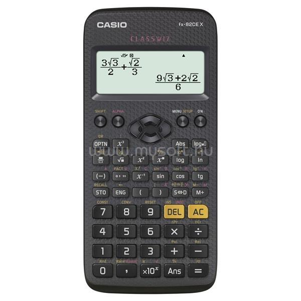 CASIO FX-82CE X tudományos számológép