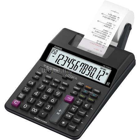 """CASIO Számológép, szalagos, 12 számjegy, 2 színű nyomtató, """"HR-150RCE"""""""