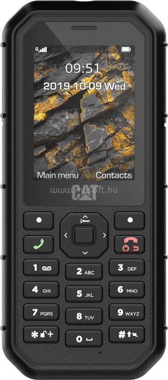"""CATERPILLAR CAT B26 2,8"""" Dual SIM fekete/szürke por- és vízálló mobiltelefon"""