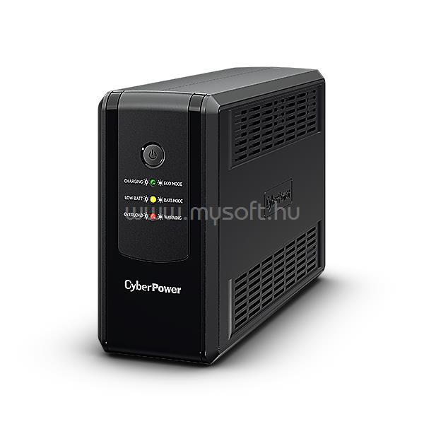 CYBERPOWER UPS 650VA Schuko UT650EG Vonali-interaktív