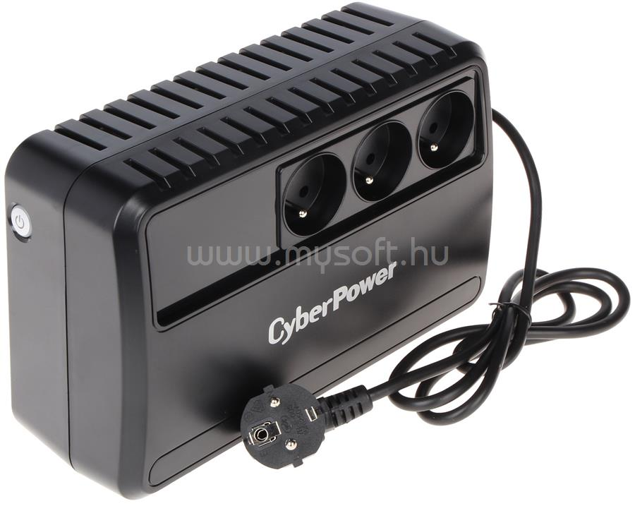 CYBERPOWER UPS 650VA Schuko Power-Saving Vonali-interaktív