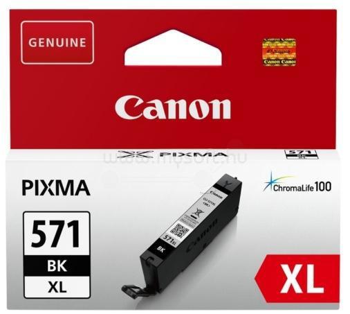 CANON Patron CLI-571BK XL Fekete 1100 oldal