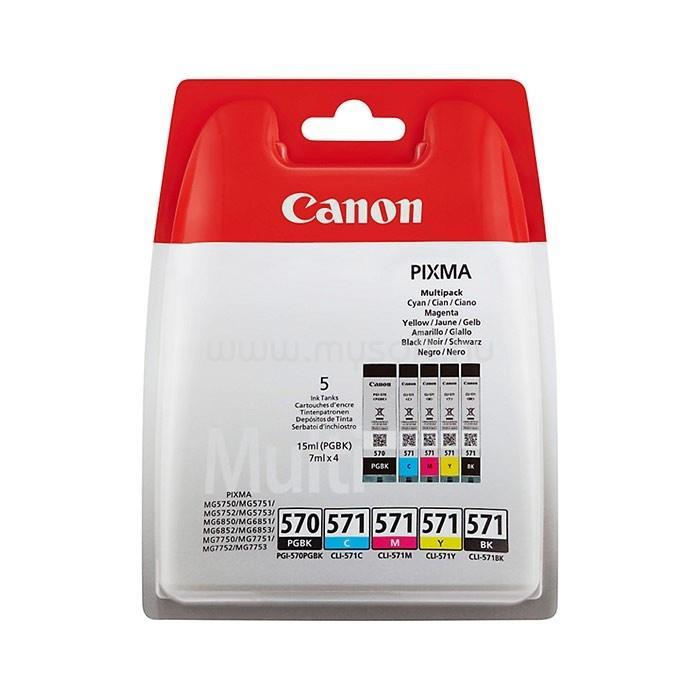 CANON CLI-570/571 Multipack patronkészlet BK/C/M/Y