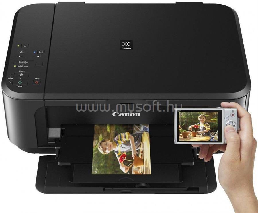 CANON Pixma MG3650S Multifunkciós színes nyomtató (fekete) 0515C106AA large