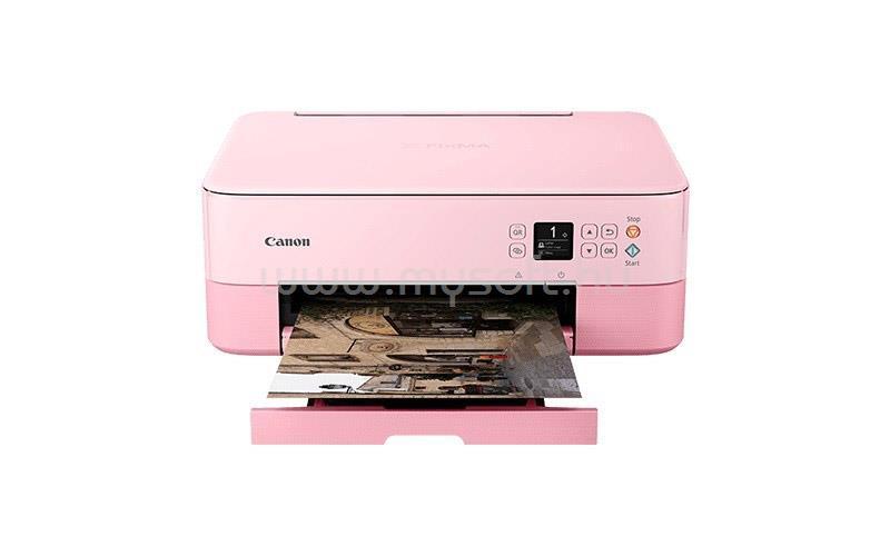 CANON Pixma TS5352 rózsaszín wireless tintasugaras multifunkciós nyomtató