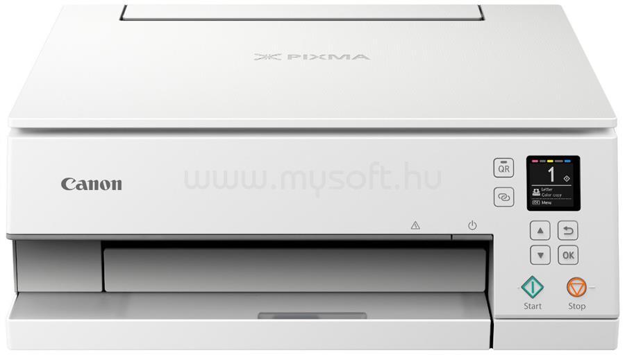 CANON Pixma TS6351 Tintasugaras Multifunkciós Nyomtató (fehér)