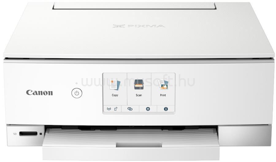 CANON Pixma TS8351 Tintasugaras Multifunkciós Nyomtató (fehér)