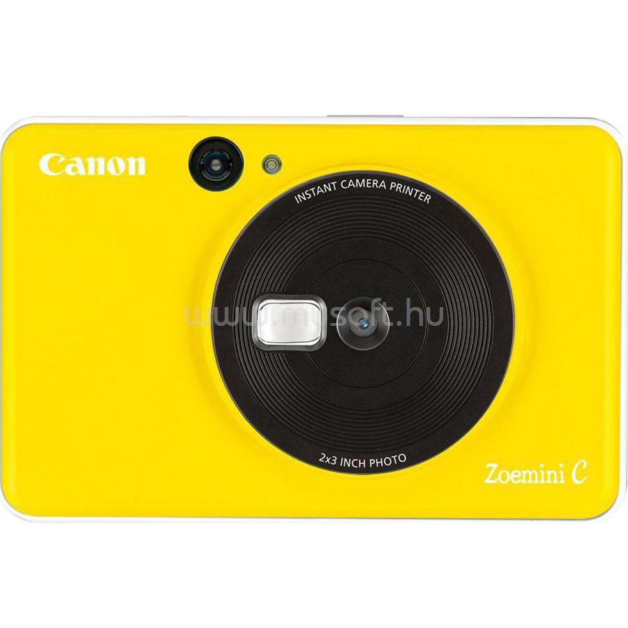 CANON Zoemini C Kamerás Nyomtató (sárga)