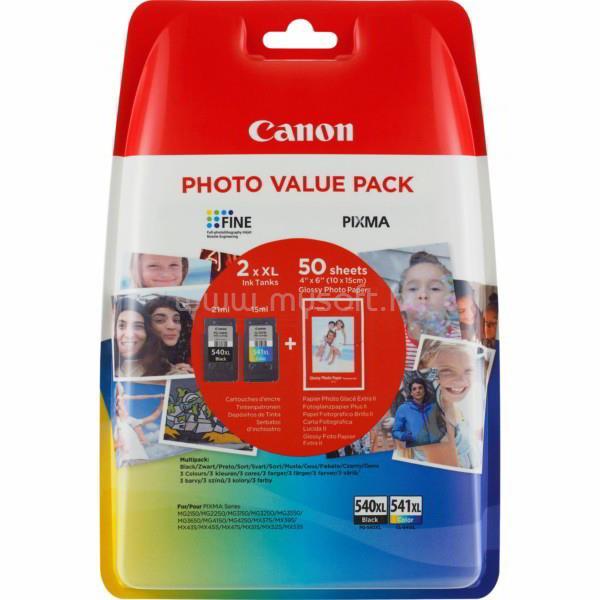 CANON PG-540XL/CL-541XL Tintapatron Készlet + Fotópapír