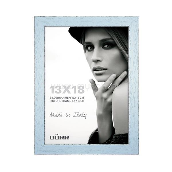 DÖRR Shabby Chic Wooden 15mm 13x18 kék képkeret