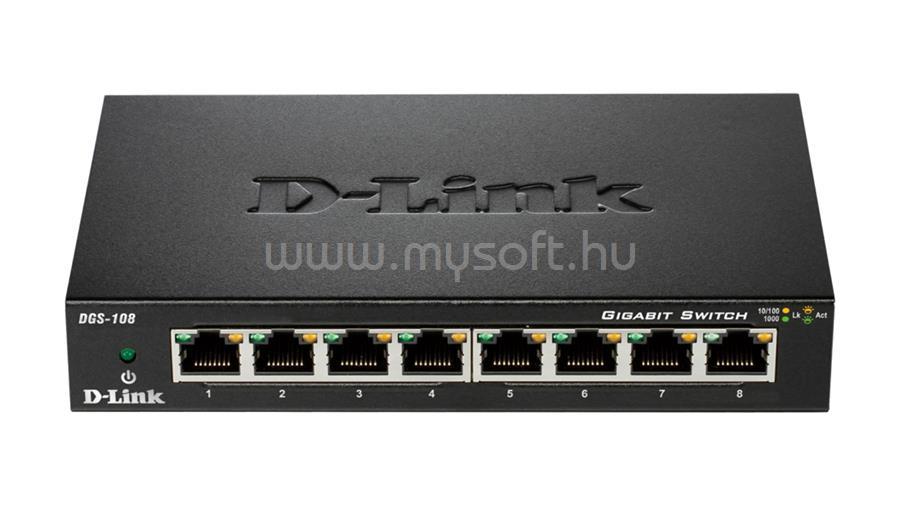 D-LINK 8-Port Gigabit Unmanaged Desktop Switch