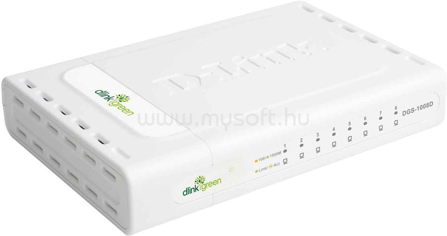 D-LINK 8-port 10/100/1000 Gigabit Desktop Switch