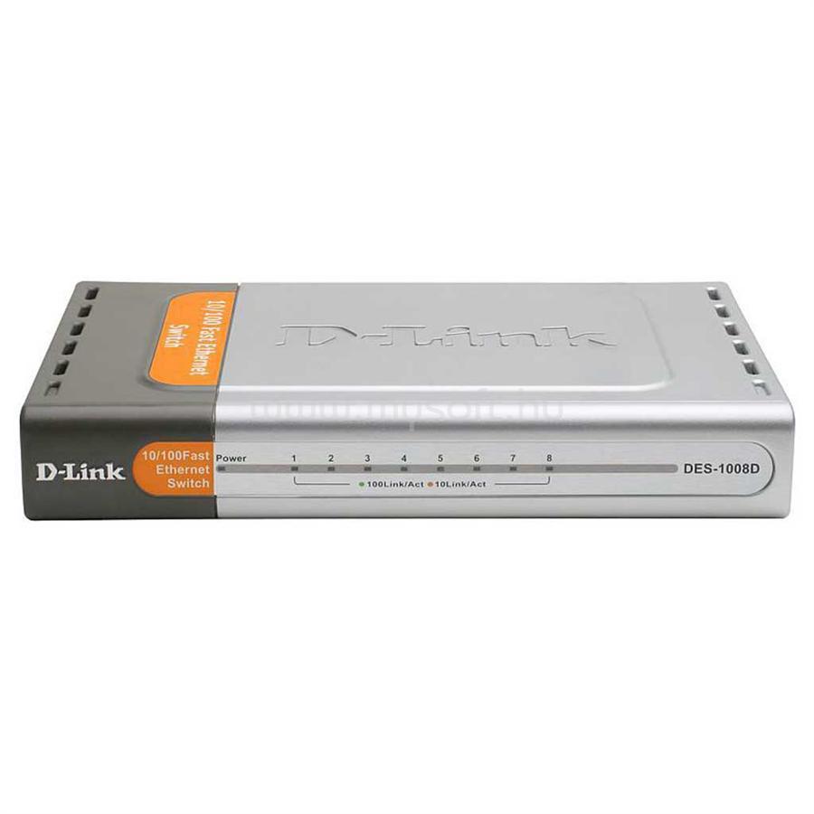 D-LINK 8-port 10/100 Desktop Switch