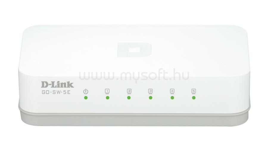 D-LINK 5-Port Fast Ethernet Easy Desktop Switch