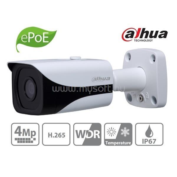 DAHUA IPC-HFW4431E-SE kültéri, 4MP, 3,6mm, IR40m, IP csőkamera