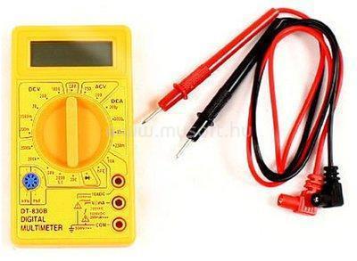 DELTA SPROTEK digitális multiméter STM800