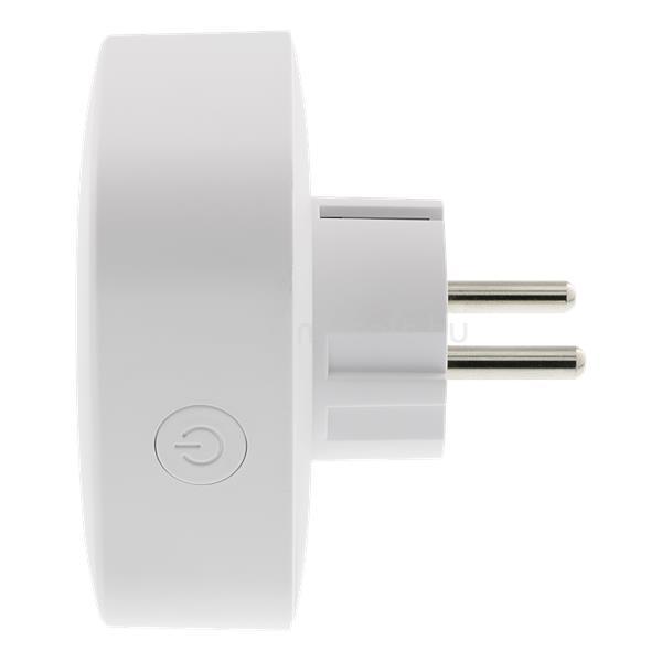 DELTACO SMART HOME SH-P01E beltéri konnektor, 10A WIFI energia monitoring