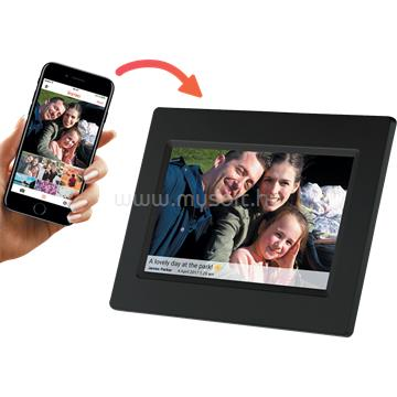 "DENVER PFF-710BLACK 7"" Smart photoframe with FRAMEO software"