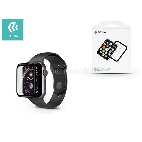 DEVIA ST323386 Apple Watch 4 40mm 3D üveg képernyővédő