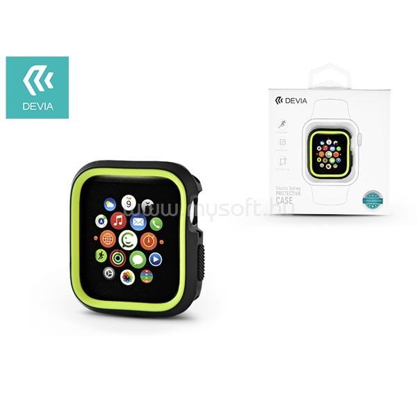 DEVIA ST323867 Dazzle Apple Watch 4 40mmfekete/zöld védőtok
