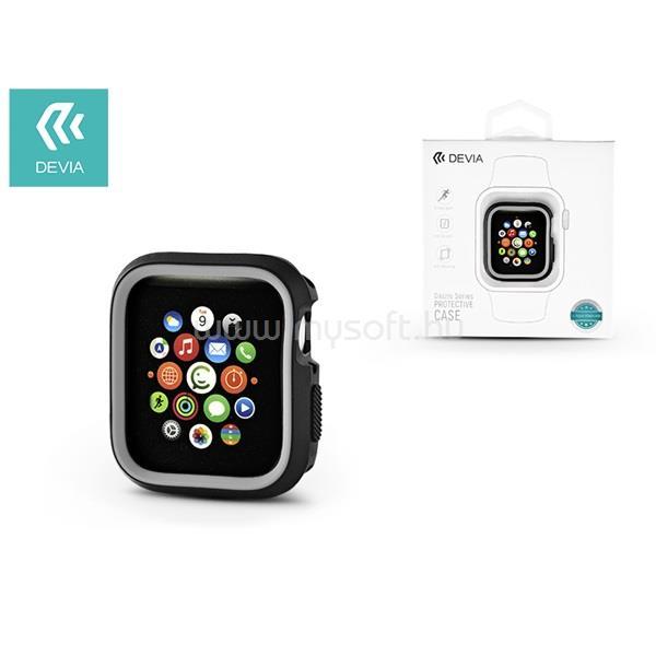 DEVIA ST323898 Dazzle Apple Watch 4 40m fekete/szürke védőtok