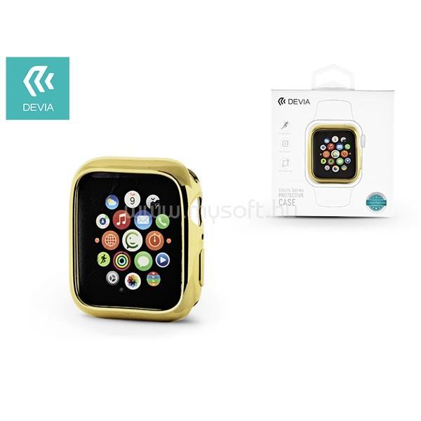 DEVIA ST323997 Apple Watch 4 44mm arany védőtok