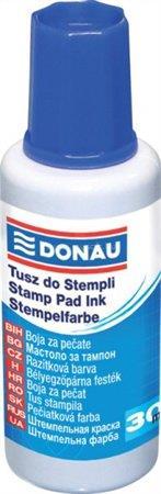 DONAU Bélyegzőfesték, 30 ml, kék