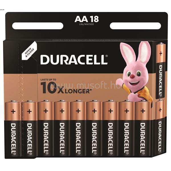 DURACELL BSC 18 db AA elem-DL