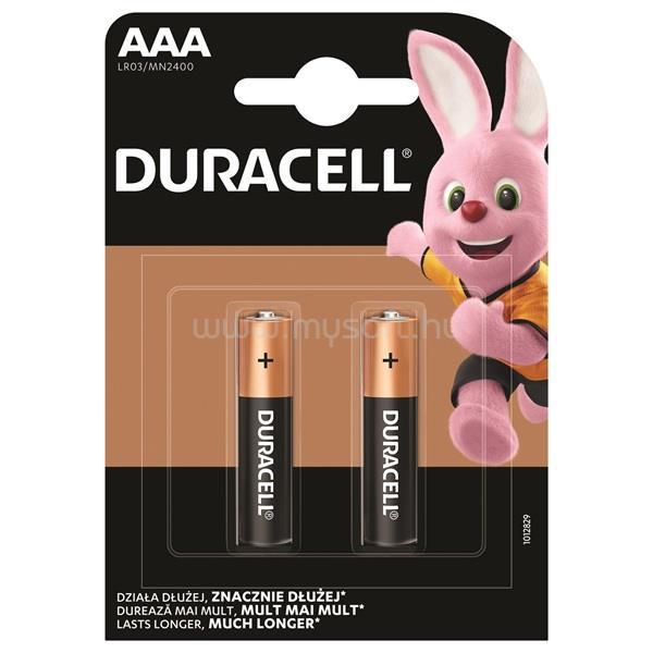 DURACELL BSC 2 db AAA elem -DL