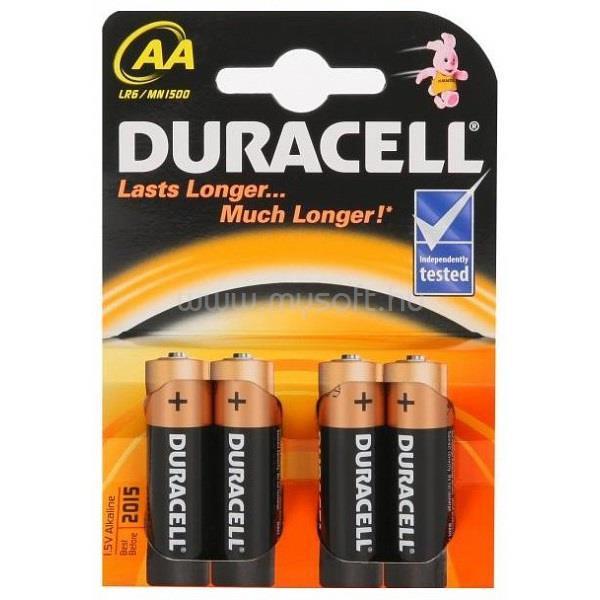 DURACELL BSC 4 db AA elem