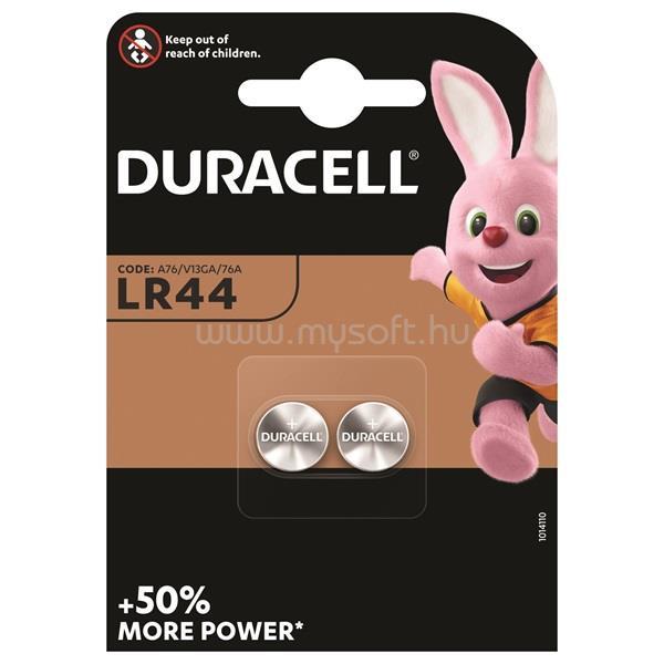 DURACELL LR 44 2 db  elem- DL