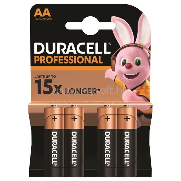 DURACELL Professional 4 db AA